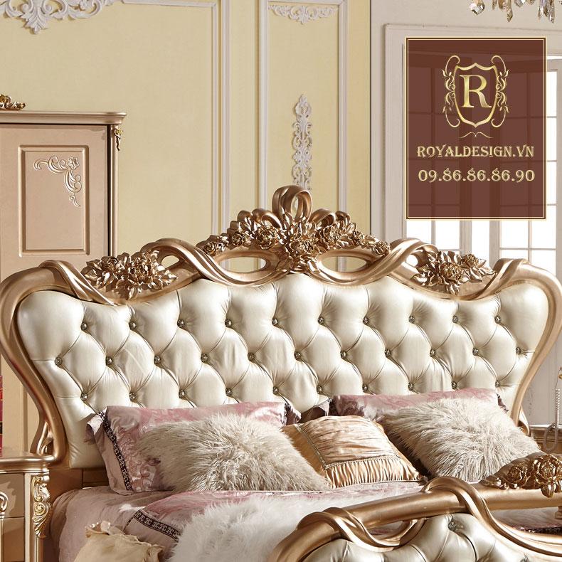 Giường ngủ Tân Cổ Điển 001-5