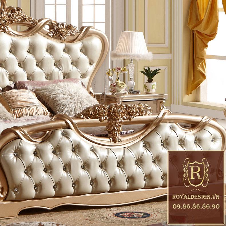 Giường ngủ Tân Cổ Điển 001-4