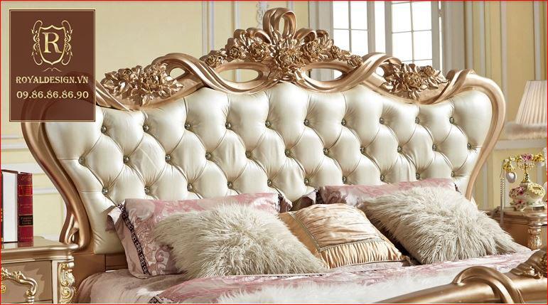 Giường ngủ Tân Cổ Điển 001-7