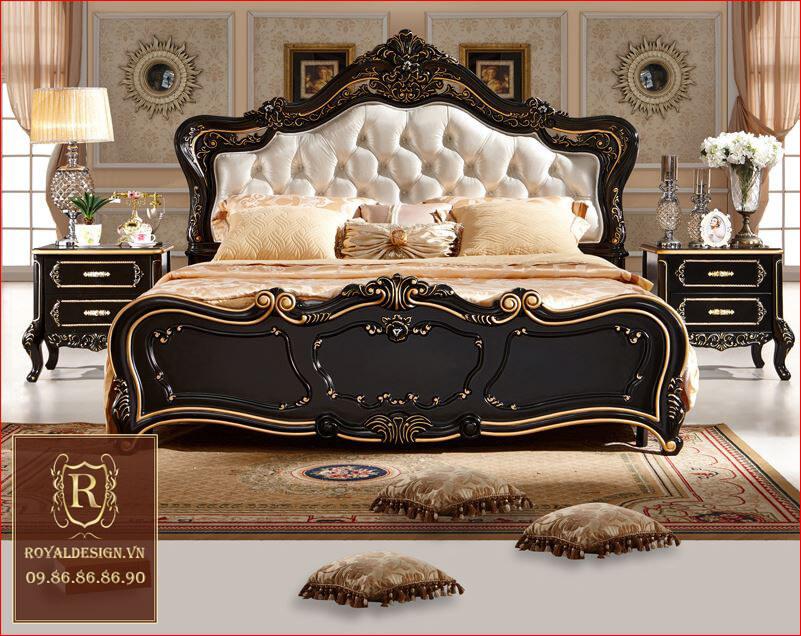 Giường Ngủ Tân Cổ Điển 005-1
