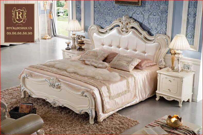 Giường Ngủ Tân Cổ Điển 008-4