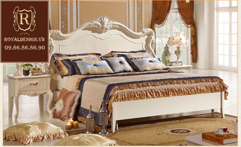 Giường ngủ Tân Cổ Điển 015-2