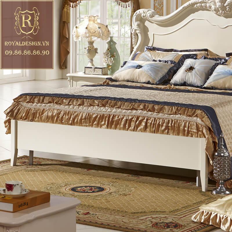 Giường ngủ Tân Cổ Điển 015-4