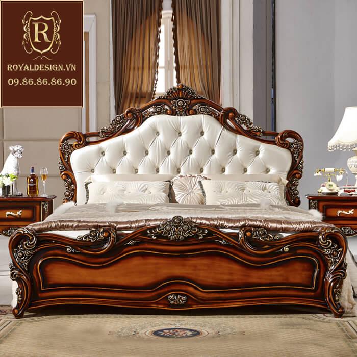 Giường ngủ Tân Cổ Điển 016-2