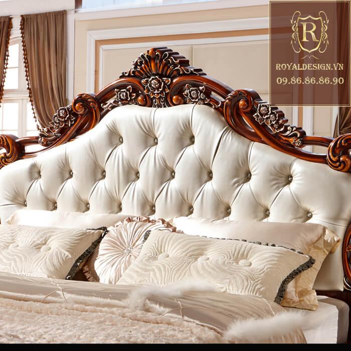 Giường ngủ Tân Cổ Điển 016-6