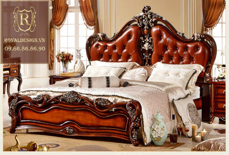 Giường Ngủ Tân Cổ Điển 018