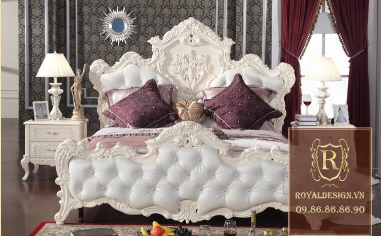 Giường Ngủ Tân Cổ Điển 020