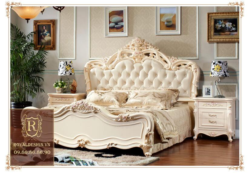 Giường Ngủ Tân Cổ Điển 022-1