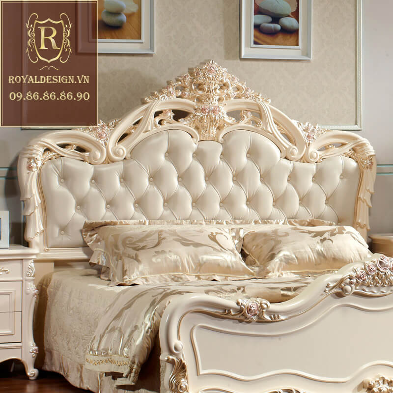 Giường Ngủ Tân Cổ Điển 022-3