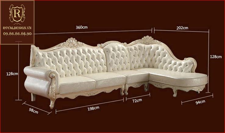 Sofa Tân Cổ Điển 008-18