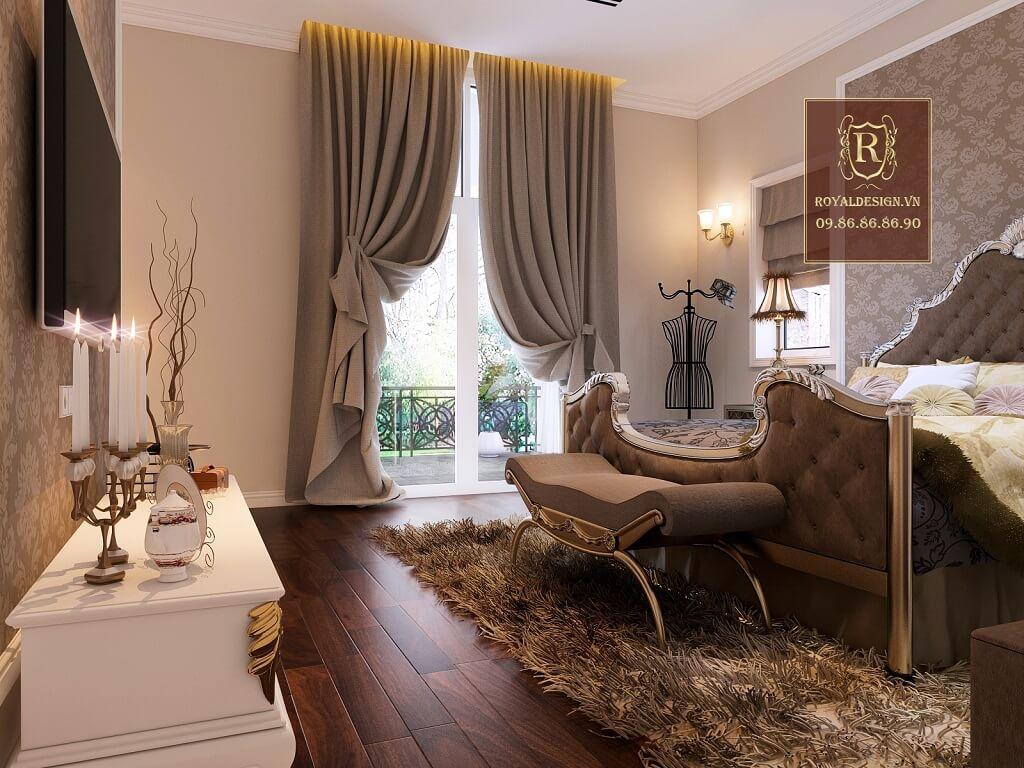 View nội thất phòng ngủ master