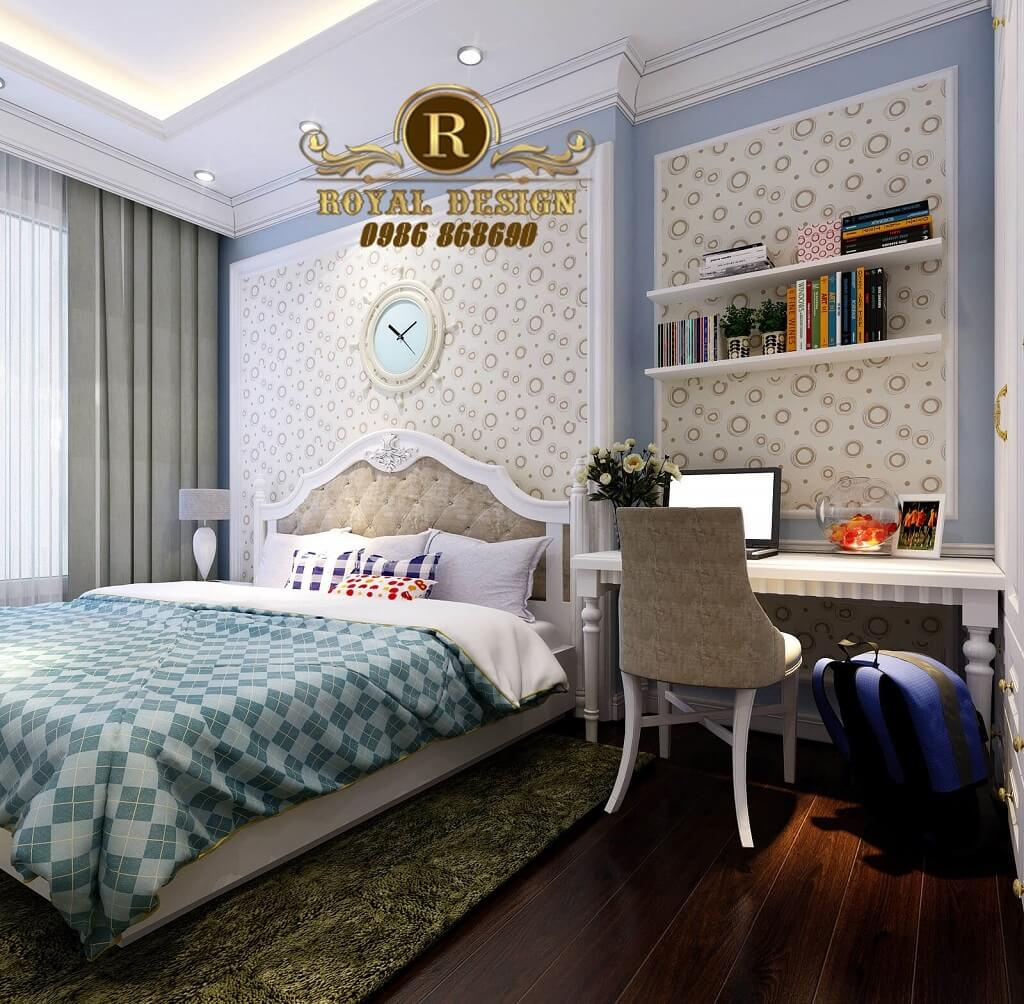 Phòng ngủ trẻ em tân cổ điển 1