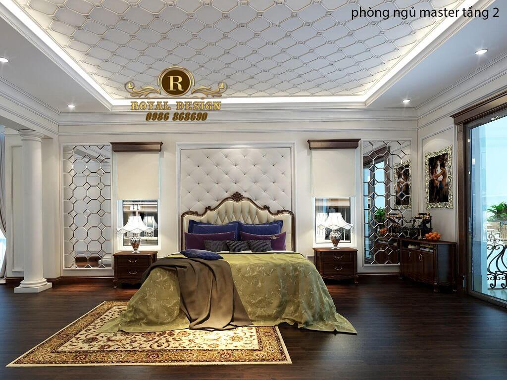 Phòng ngủ master tâng 2