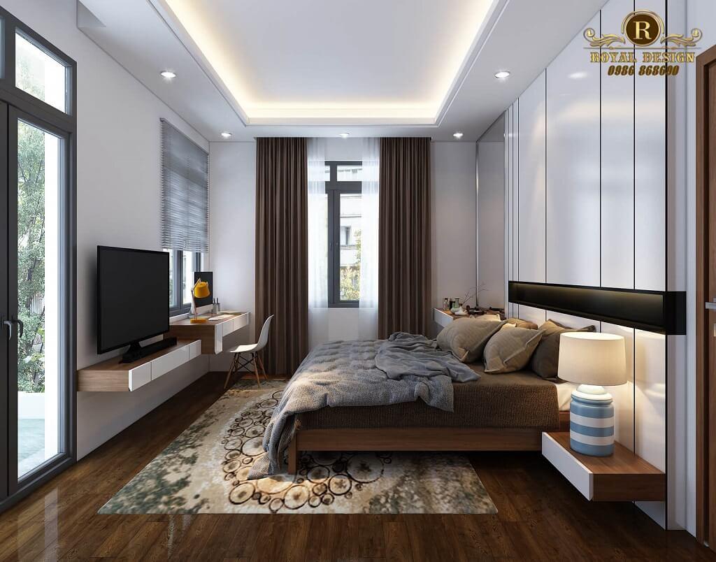 Thiết kế phòng ngủ master đẹp hiện đại
