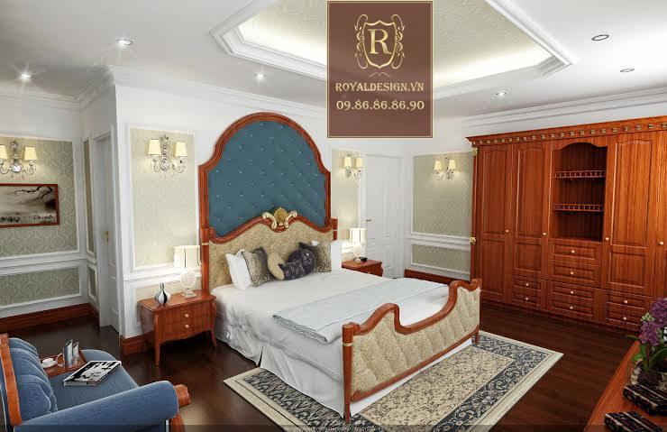 Hình ảnh thiết kế nội thất phòng ngủ con trai