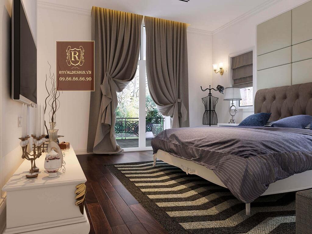 Thiết kế nội thất phòng ngủ 01-1
