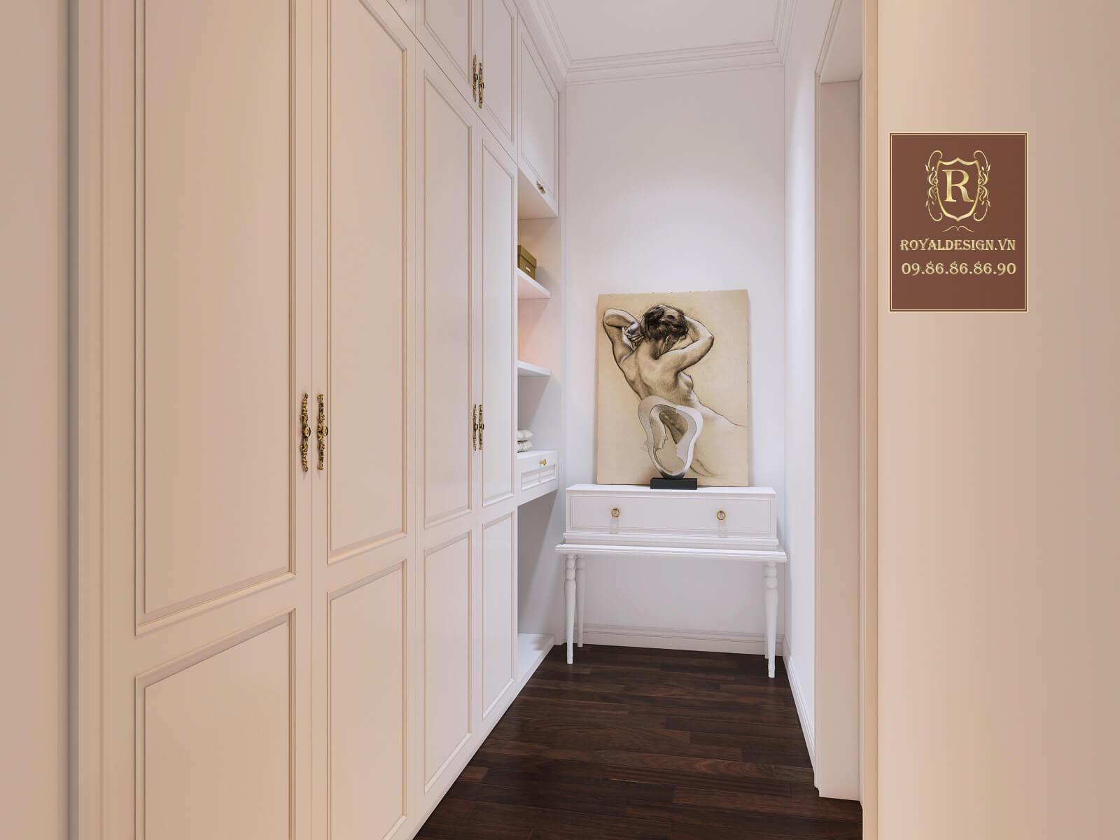 Phòng thay đồ cho nhà biệt thự