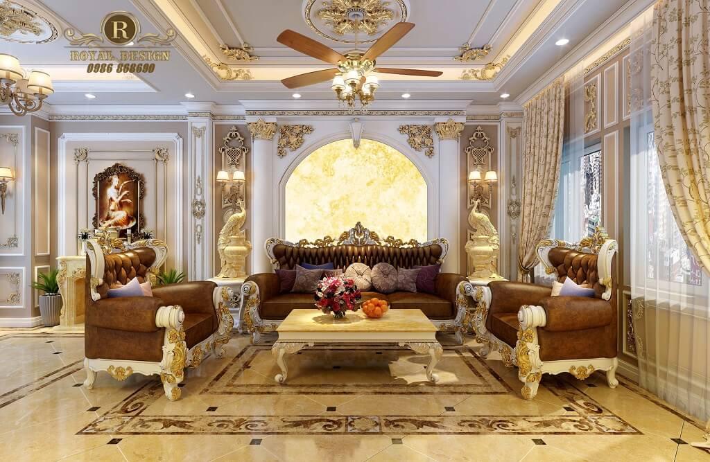 sofa hoàng gia