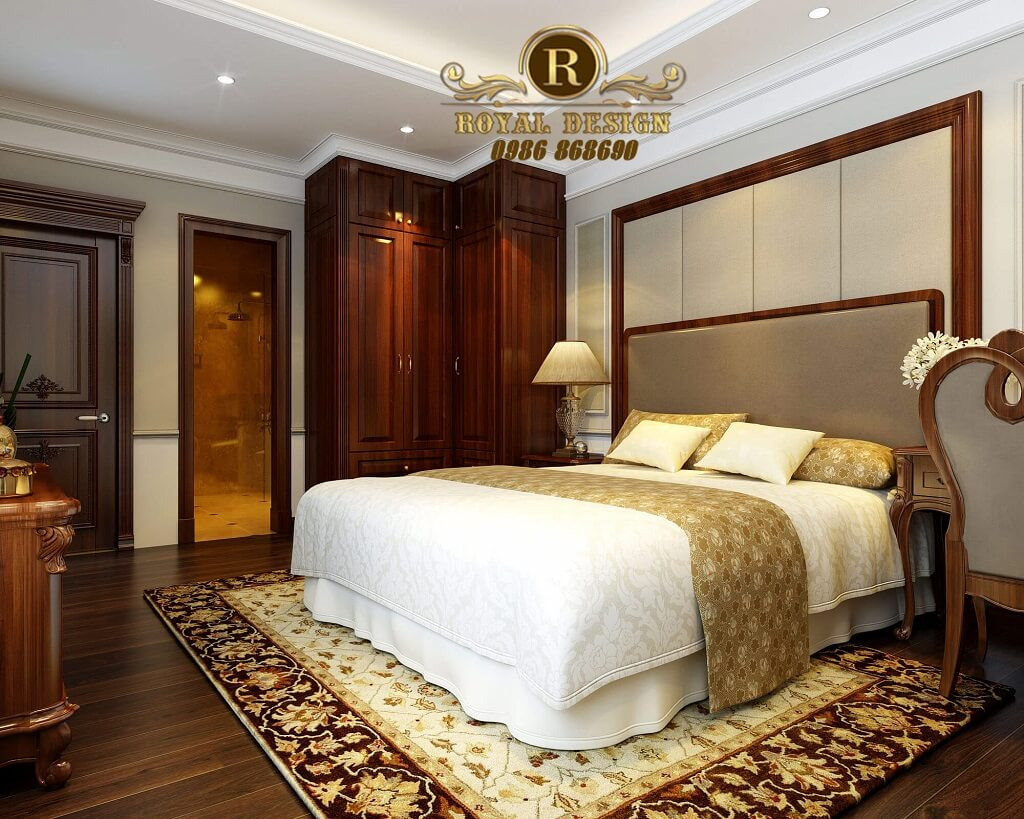 Thiết kế phòng ngủ ông bà