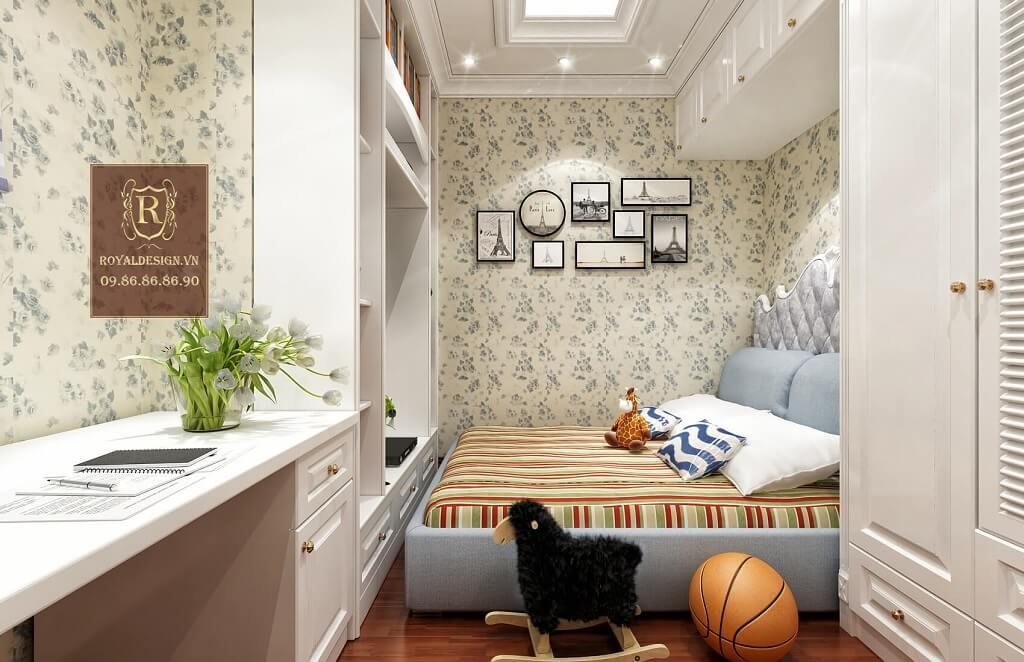 giường ngủ kiểu châu âu