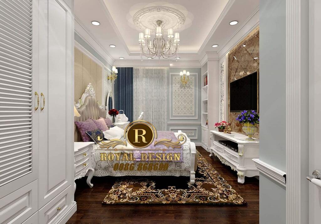 Nội thất phòng ngủ cổ điển
