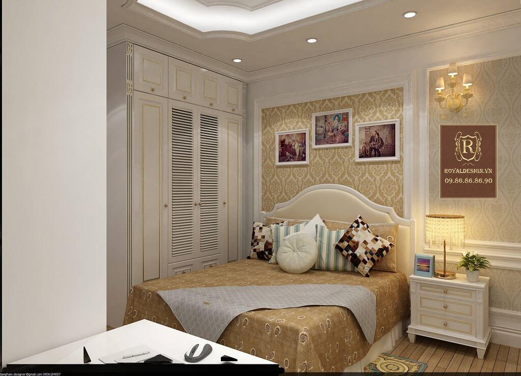 Phòng ngủ tân cổ điển con trai lớn