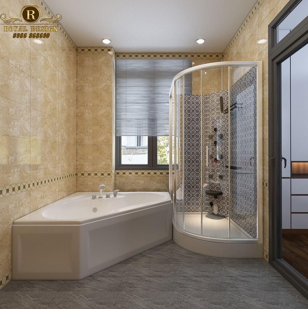 Phối cảnh 3D thiết kế nội thất tầng 2 phòng wc master02