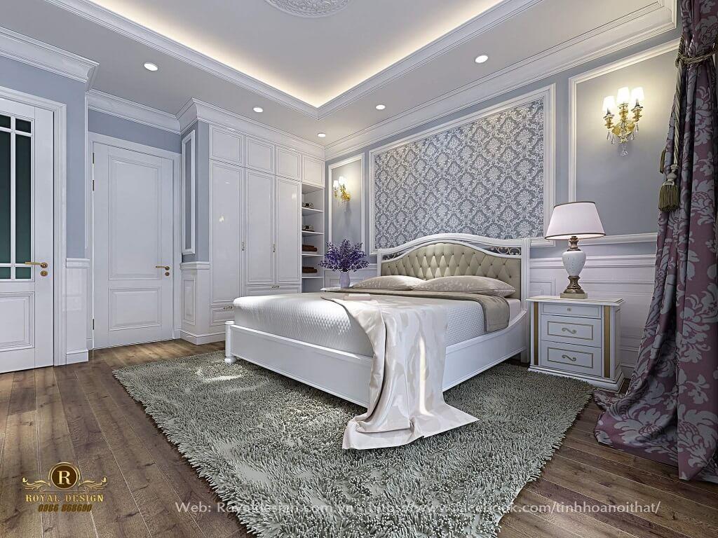 Phòng ngủ bé trai đơn giản