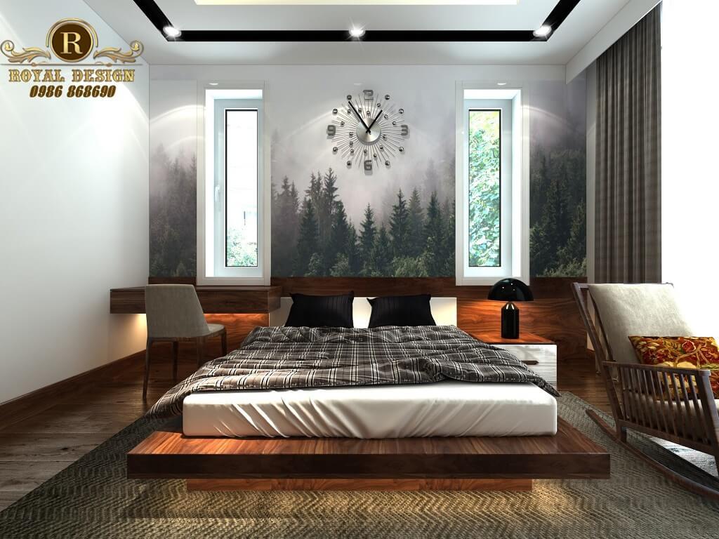 Phòng ngủ con trai tân cổ điển
