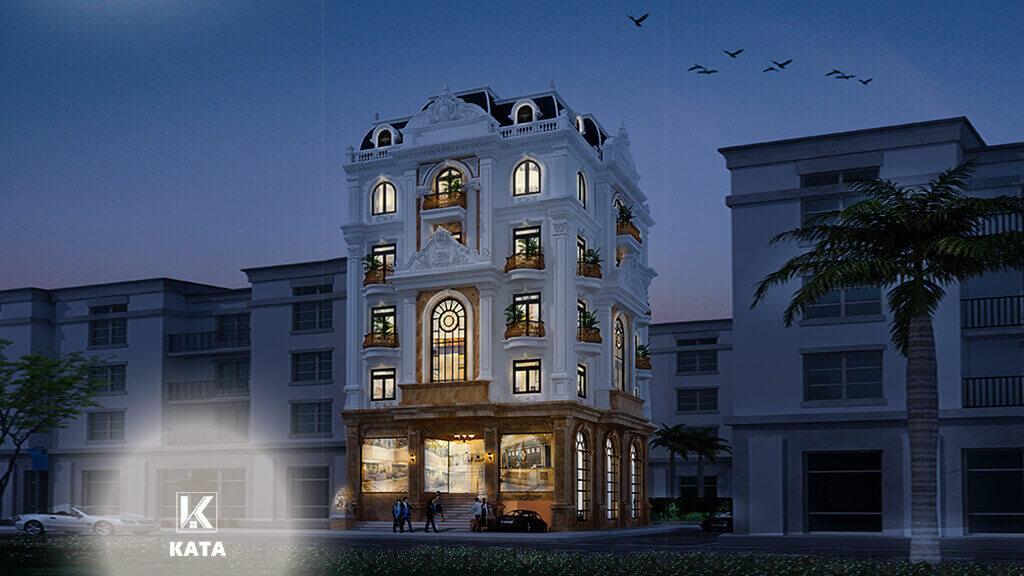 Mẫu thiết kế nhà ở đẹp tại kiến trúc ROYAL