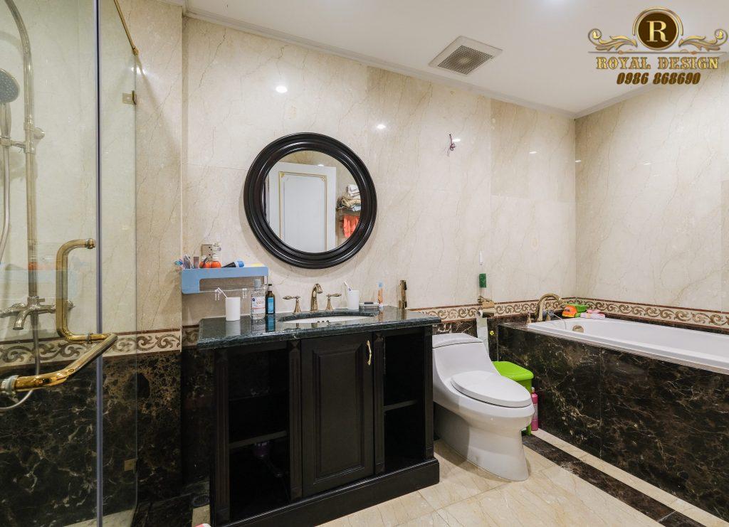 Phòng tắm phong cách luxury