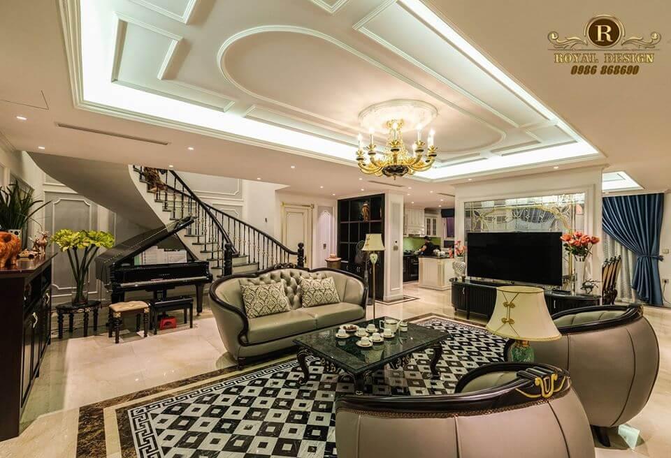 Nội thất phòng khách Luxury