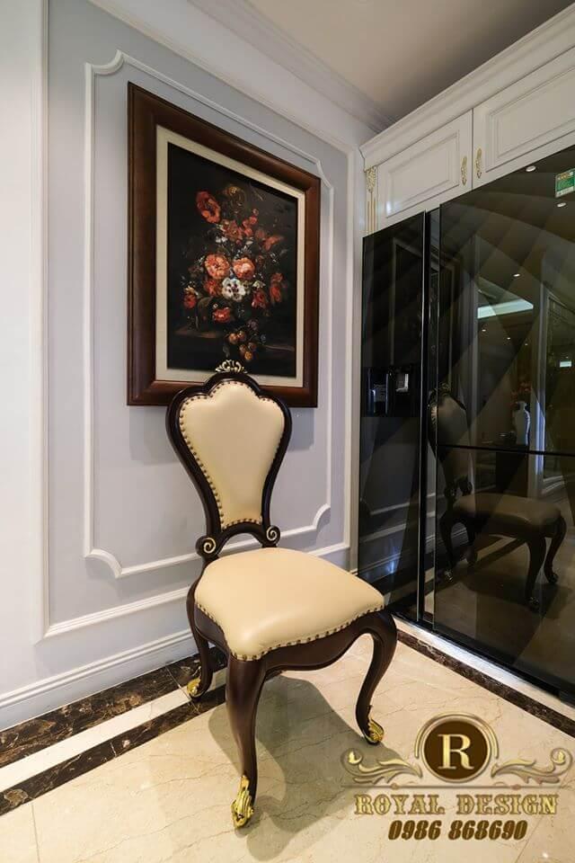 Ghế ăn  phong cách luxury