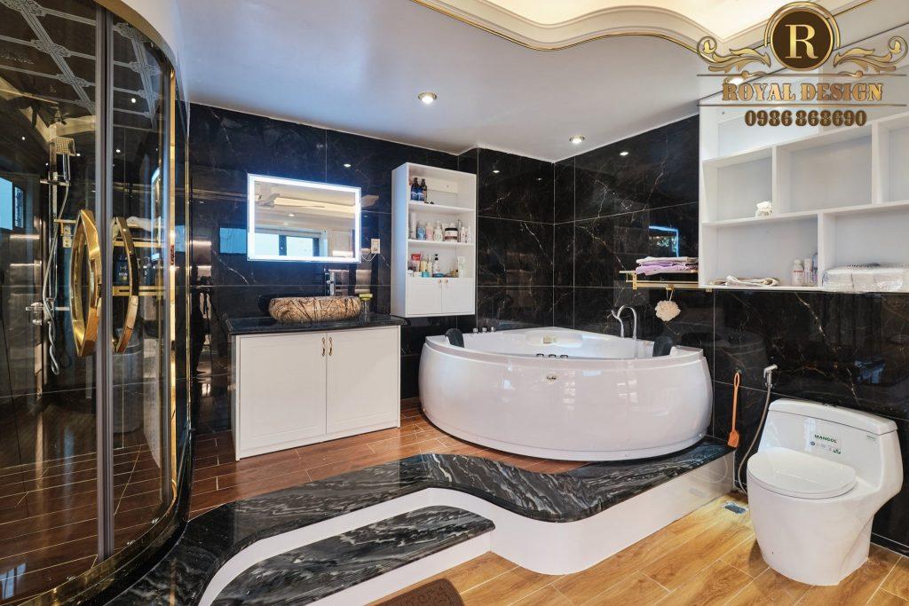 nội thất nhà tắm sang chảnh