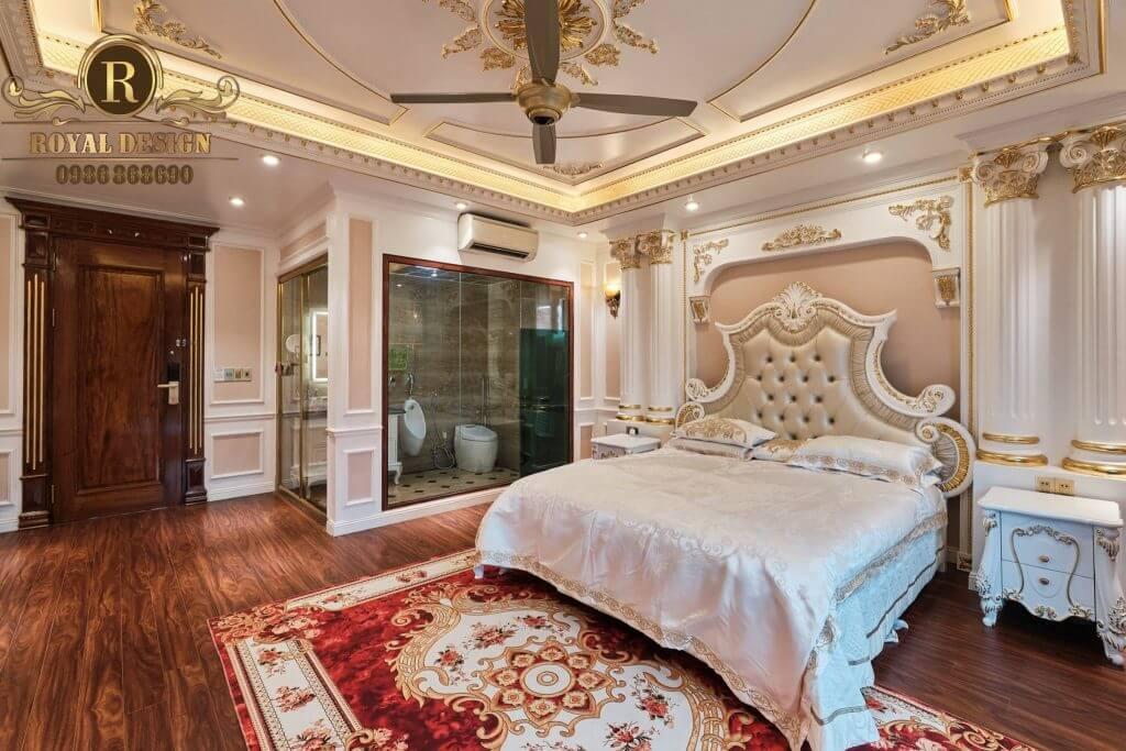 giường ngủ phong cách châu âu