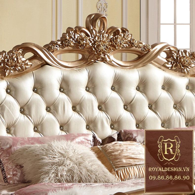 Giường ngủ Tân Cổ Điển 001-6