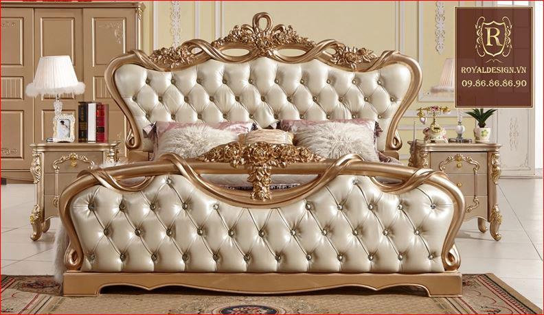 Giường ngủ Tân Cổ Điển 001-3
