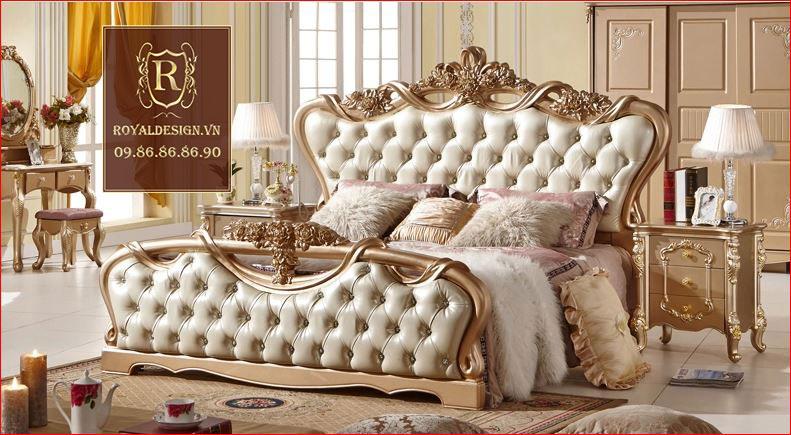 Giường ngủ Tân Cổ Điển 001-2