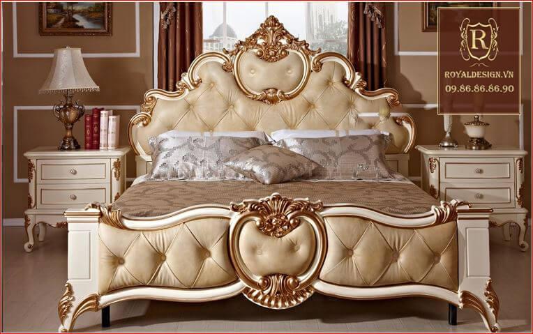 Giường Ngủ Tân Cổ Điển 003