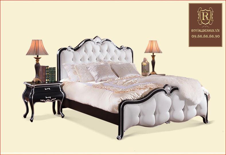 Giường Ngủ Tân Cổ Điển 006-5