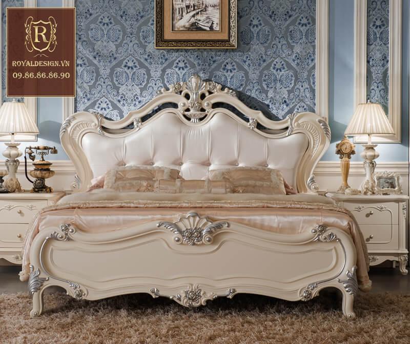 Giường Ngủ Tân Cổ Điển 008-2