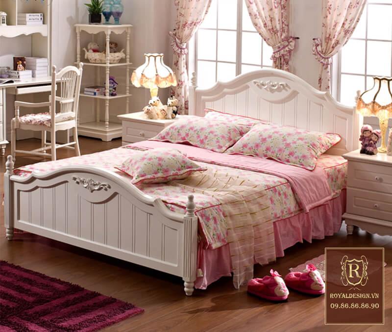 Giường Ngủ Tân Cổ Điển 009-1