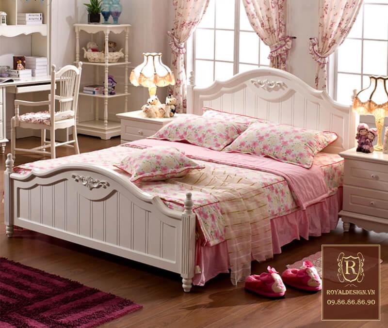 Giường Ngủ Tân Cổ Điển 009