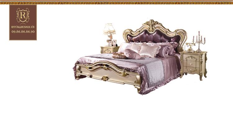 Giường Ngủ Tân Cổ Điển 011-12