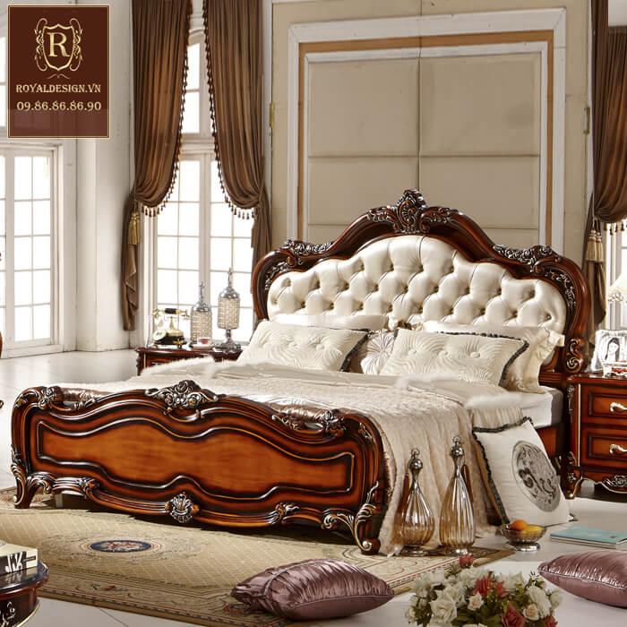 Giường Ngủ Tân Cổ Điển 012-1