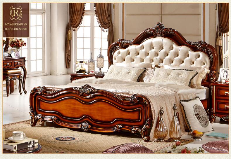 Giường Ngủ Tân Cổ Điển 012