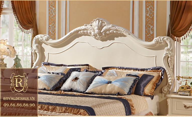 Giường ngủ Tân Cổ Điển 015
