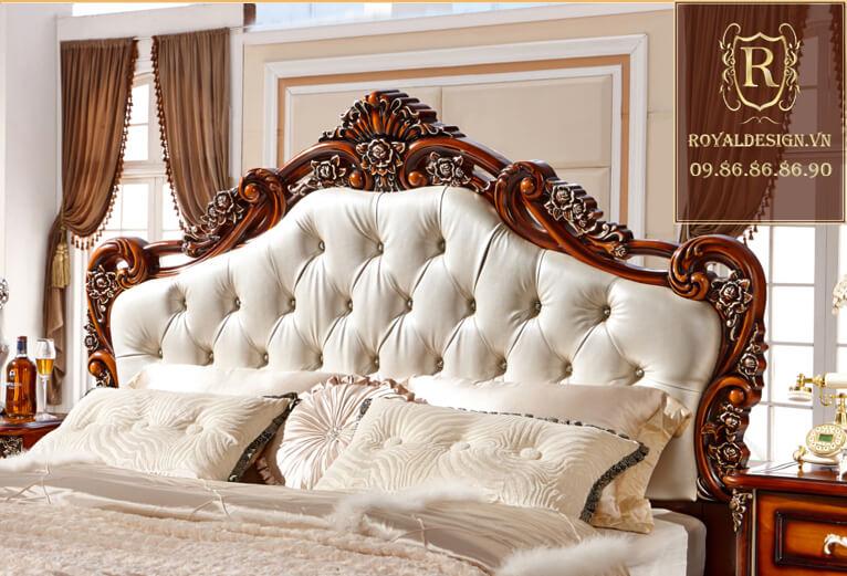 Giường ngủ Tân Cổ Điển 016-5