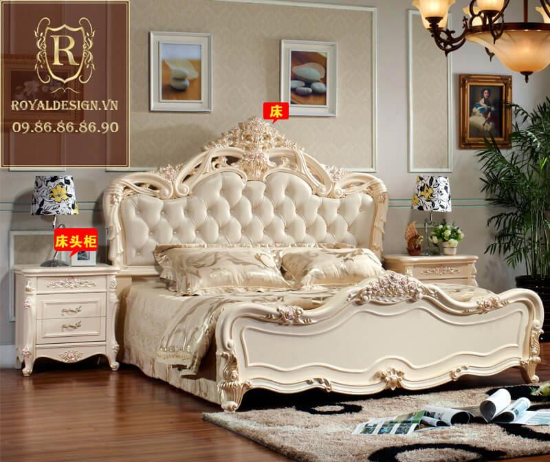 Giường Ngủ Tân Cổ Điển 022-2
