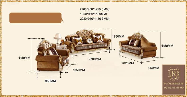 Sofa Tân Cổ Điển 022-8